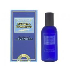 Oxford & Cambridge Cologne Spray 100ml // Oxford & Cambridge, a traditional lavender fragrance, is a fresh and invigorating scent evocative of the English countryside, varsity matches and the great British sporting tradition. The character of the fragrance is distinctive and full of character. It contains a blend of English and French lavender, topped with herbaceous peppermint and rosemary essential oils with bergamot on a base of warm oak moss.
