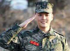 Yoon Si Yoon -- pictured on January 27 -- served for 19 months at the South…