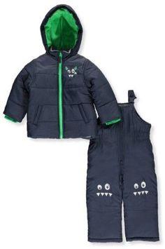 a7032bca5 Pulse Big Boys Youth 2 Piece Snowsuit Ski Jacket and Snow Pants ...