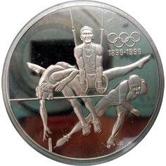 Moneda de plata 15 Dolares Canada 1992 Citius Altius Fortius