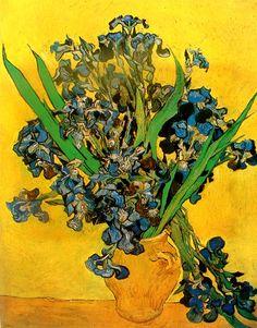 Flores azules de Van Gogh