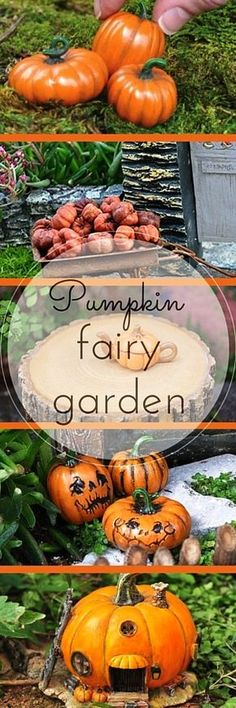 Fairy Garden Pumpkin Items That Are Perfect Fall! www.teeliesfairygarden.com The autumn season has started and the love for the ultimate fall decoration, the good old pumpkin, is shining bright and strong, even in fairy gardens! Here are our favorite pumpkin items that deserve a spot in your magic garden. #teeliesfairygarden
