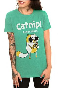 Adventure Time Catnip Girls T-Shirt