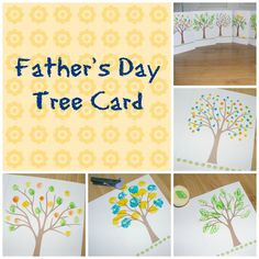 Guest blog - Father's day tree card.
