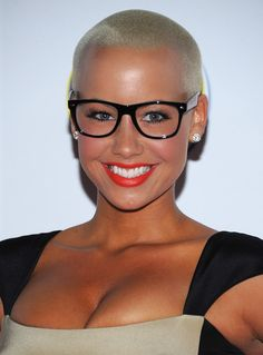 One day I'm going to get the courage!! I love Amber Rose!