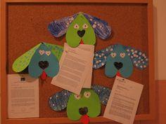 Valentinovo - kužki, Cute Dog Valentines Day Craft For Kids
