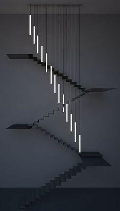 #Minimallighting created with #neon tubes looks super slick!