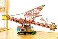 Meccano Merkur bucketwheel excavator set