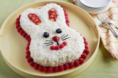 Torte für Ostern als Hase gestalten