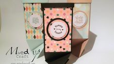 Twisted Triangle Box using Stampin Up products