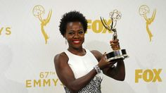 At Emmy Awards, Viola Davis ('How to Get Away With Murder') becomes first black woman to win for lead actress in a drama series. Viola Davis, Black Actresses, Actors & Actresses, Divas, Gender Pay Gap, Drama, Girls Ask, Amy Poehler, Jennifer Hudson