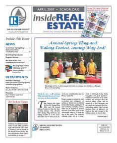 April 2007 Cover, SCAOR Newsletter  http://dixongraphics.com/portfolio_newsl.htm