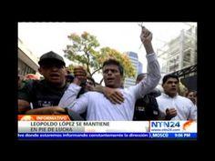 Leopoldo López responde a entrevista desde la cárcel y asegura no arrepe...