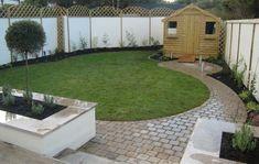 triangular garden design ideas