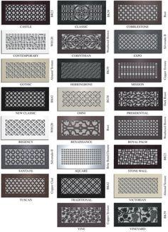 buy decorative vent covers for your home and complete the look - Decorative Vent Covers