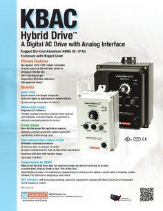 KBAC AC Drive Sales Sheet by KB Electronics, Inc., via Slideshare