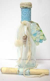 Mermaid and under the sea invitation ideas. OH! I hope I can pull something like this off! so adorable, I love these!