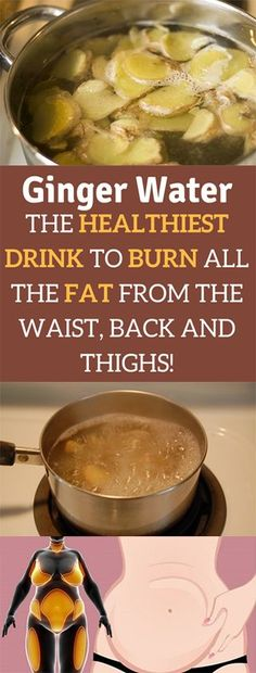 Food Fat Burning - Ginger Water: The Healthiest Drink To Burn All The Fat From The Waist, Back And Thighs. water loss We Have Developed The Simplest And Fastest Way To Preparing And Eating Delicious Fat Burning Meals Every Day For The Rest Of Your Life Fat Burning Drinks, Fat Burning Foods, Fat Burning Tea, Detox Drinks, Healthy Drinks, Healthy Detox, Nutella, Diet Recipes, Healthy Recipes