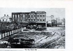 Woodstock, IL square 1864