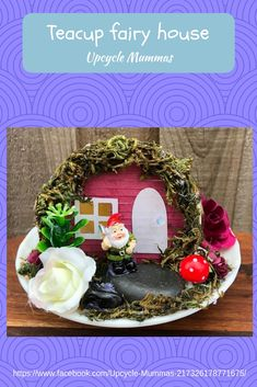 We've made cute little fairy houses to enjoy. Follow us on Facebook, Pinterest or Instagram to see more.