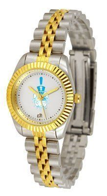 Citadel Bulldogs Suntime Ladies Executive Watch - NCAA College Athletics by Sun Time/Links Warner. $139.95. A timepiece as classic as the game itself. Our Executive timepieces offer a more formal look, with Colorado State Rams team logo on the watch face and is beautifully represented with raised 23-kt gold and is accented by a fluted gold-toned bezel. Features include: Date Function, the solid link bracelet strap features two-tone styling in 23-kt gold and stainless steel...