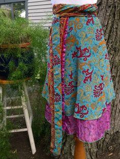 Darn Good Yarn Wrap skirt