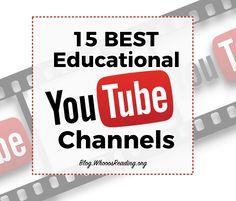 15 BEST Educational YouTube Channels 5th Grade Classroom, Middle School Classroom, Middle School Science, Teaching Technology, Teaching Science, Educational Technology, Technology Tools, Educational Youtube Channels, Summer School