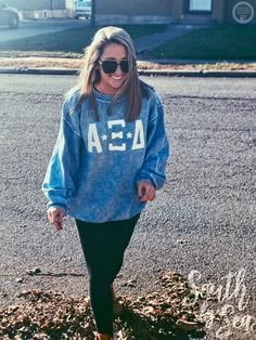 Alpha Xi Delta   AXiD   Corded Crew   Letters and Stars   Sorority Fall Fashion   Sorority Outerwear   South by Sea   Greek Tee Shirts   Greek Tank Tops   Custom Apparel Design   Custom Greek Apparel   Sorority Tee Shirts   Sorority Tanks   Sorority Shirt Designs