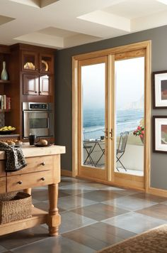 Venting Patio Doors ashworth(r) patio door with venting sideliteswoodgrain
