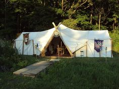 """geekinglikeaboss: """"Viking Camping Because FUCK YOU that's why. """""""