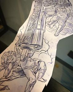 Audentes fortuna iuvat yes it does - Tattoo MAG Gangster Tattoos, Chicano Tattoos, Lettrage Chicano, Badass Tattoos, Tattoos For Guys, Tattoo Design Drawings, Tattoo Sleeve Designs, Tattoo Sketches, Sleeve Tattoos