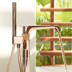 Axor Citterio E bathroom mixers for the bath tub   Hansgrohe International