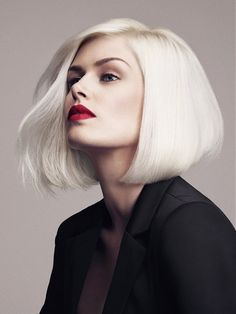 #platinium Bob Hair cut
