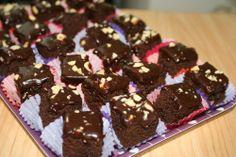 CHOCOLATE TEFFBROWNIES recipe #thecooksnextdoor