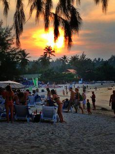 Sunset on Choeng Mon Beach, Ko Samui, Thailand