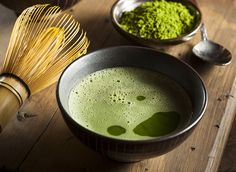 Delicious Japanese traditional green tea