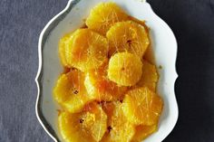 Chilled Oranges in Rum-Caramel Syrup from Food52