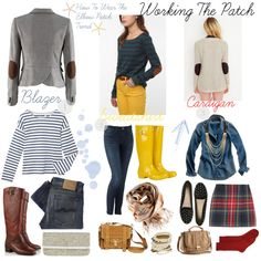 Working The Patch by uncutdiamonds on Polyvore featuring BDG, Petit Bateau, Madewell, H&M, Nudie Jeans Co., Opening Ceremony, Barneys New York, Hunter, Proenza Schouler and Dorothy Perkins