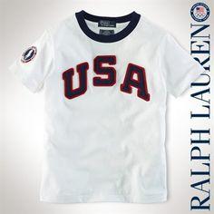 Kids Ralph Lauren USA T-Shirt