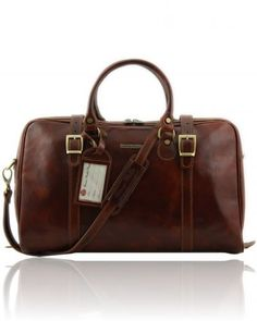 Small compact Weekend travel bags for men. A Brown retro Men s luggage  carry-on 00f3cafc30483