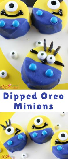 We all know the real stars of the show aren't the villains- it's the adorable sidekicks! These Oreo Minions are perfect for a Despicable Me birthday party, Minions movie night, or for any Minions lover!