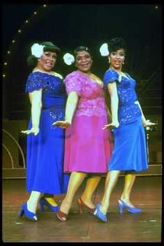 "(L-R) Armelia McQueen, Nell Carter and Debbie Allen in a scene from the Broadway production of the musical ""Ain't Misbehavin'."" (New York)"