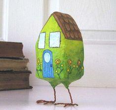 bird-house~LOL  I love this!  ha ha ha