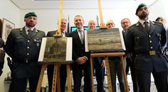 Online Business Operator: Stolen Van Gogh paintings found in anti-mafia raid...