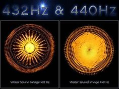 """432 Hz Versus 440 Hz The Cosmic 432 Diameter Moon is 2,160 miles (432 x 5) Diameter Sun is 864,000 miles (432,000 x 2) Half of the day is 720 minutes (432,000 seconds) Human heart beats """"if healthy"""" (864,000 per day = 432,000 x 2)  Back to 432 Hz - the hidden power of universal frequency and vibration  432 Hz is an alternative tuning that is mathematically consistent with the universe. Music based on 432 Hz transmits beneficial healing energy, because it is a pure tone of math fundamental to…"""