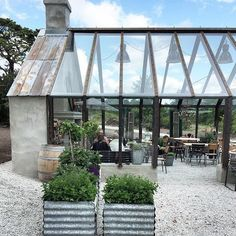 Amazing Minimalist Indoor Zen Garden Design Ideas ~ Summer House ~ The poolside retreat of Bibury Court, on the edge of the Cotswold village! Pergola Diy, Pergola Plans, Pergola Carport, Steel Pergola, White Pergola, Modern Pergola, Outdoor Rooms, Outdoor Living, Outdoor Cafe