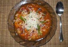 Italská polévka Minestrone Institutu Kompliment Recepty.cz - On-line kuchařka