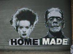 london street art:  miss bugs - HOME MADE by mermaid99, via Flickr