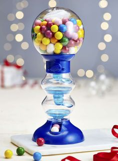 """10"""" Gumball Machine with Fruit Flavoured Gumballs"""