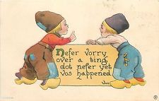 "Bernhardt Wall~""Nefer Vorry""~Dutch Boys Exchange Wise Words~Patches~Ser 5108"